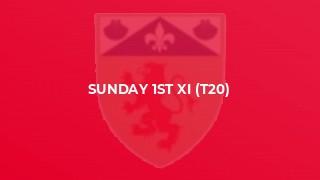 Sunday 1st XI (T20)