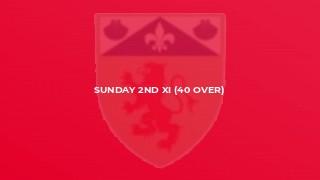 Sunday 2nd XI (40 Over)