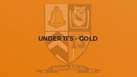 Under 11's - Gold