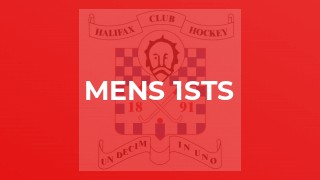 Back to winning ways for Men's 1sts