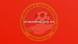 U7 Amateurs - 2013- IFA