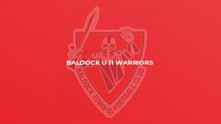 Baldock U 11 Warriors