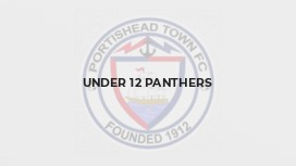 Under 12 Panthers