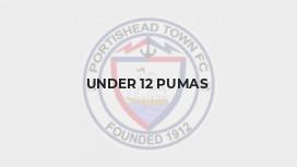 Under 12 Pumas