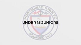 Under 15 Juniors