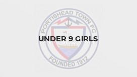 Under 9 Girls
