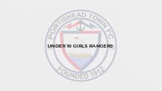 Under 10 Girls Rangers