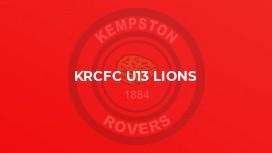 KRCFC U13 Lions