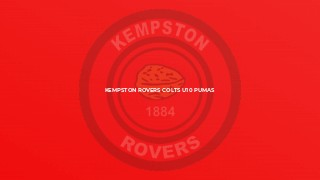 Kempston Rovers Colts U10 Pumas