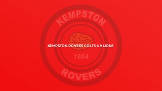 Kempston Rovers Colts U9 Lions