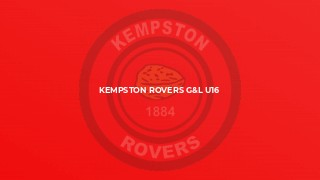 Kempston Rovers G&L U16