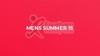 Mens Summer 1s