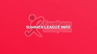 Summer League Info