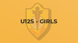 U12s - Girls