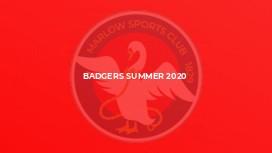Badgers Summer 2020