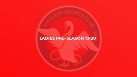 Ladies pre-season 19-20