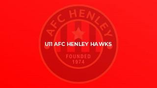 U11 AFC Henley Hawks