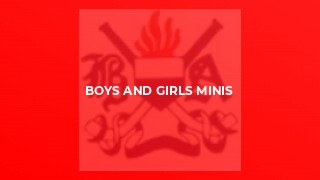 Boys and Girls Minis