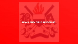 Boys and Girls Under 8s