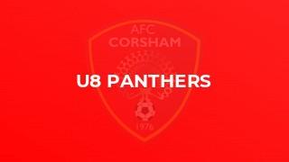 U8 Panthers
