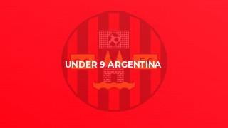Under 9 Argentina