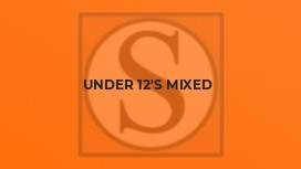 Under 12's Mixed