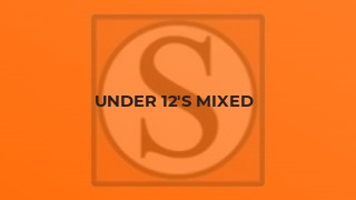 U13 Mixed Summer League - Results from 30th June