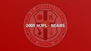 2005 MJPL - Bears