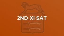 2nd XI Sat