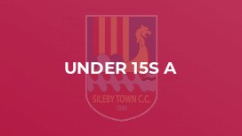 Under 15s A