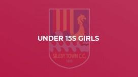 Under 15s Girls