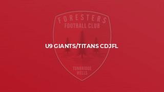 U9 Giants/Titans CDJFL