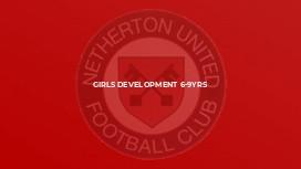 Girls Development 6-9yrs