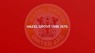 Hazel Grove U16s Jets