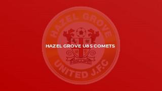 Hazel Grove U8s Comets