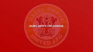 Hazel Grove U8s Cosmos