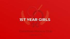 1st Year Girls