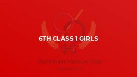6th Class 1 Girls