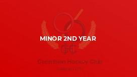 Minor 2nd Year