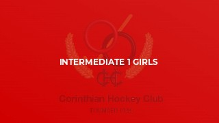 Intermediate 1 Girls