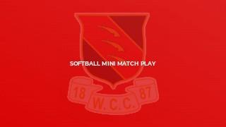 Softball Mini Match Play