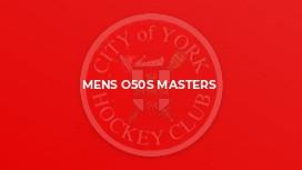 Mens O50s Masters