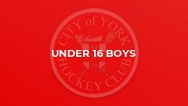 Under 16 Boys