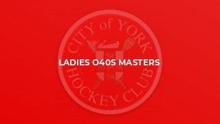 Ladies O40s Masters