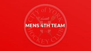 Mens 4th Team