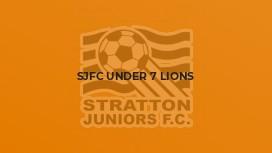 SJFC Under 7 Lions