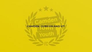 Camden Cubs U6 and U7