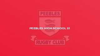 Peebles High School S1