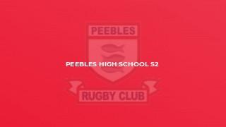 Peebles High School S2