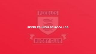 Peebles High School U18